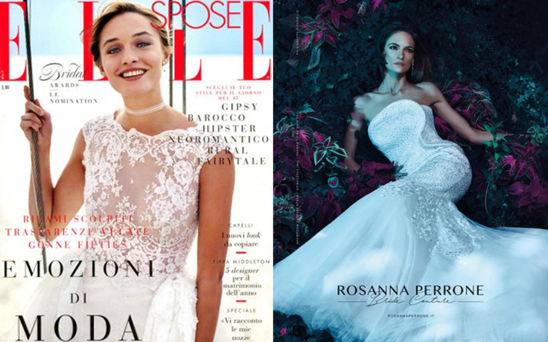 Rosanna Perrone Elle Spose 2017